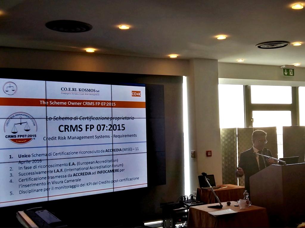 Intervento di CO.E.RI. KOSMOS - Seminario AICQ SICEV - Milano 2017