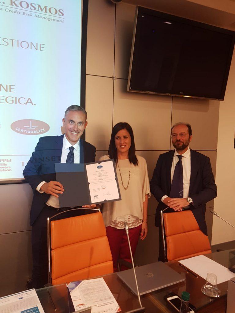 Seminario Certificazione Sistemi di Gestione del Credito - 26 giugno 2018 Milano