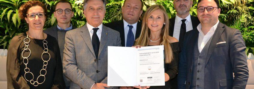 Certificazione del Sistema di Gestione del Credito - Sorgenia 2019