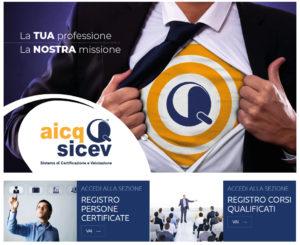 registro credit manager certificati AICQ SICEV